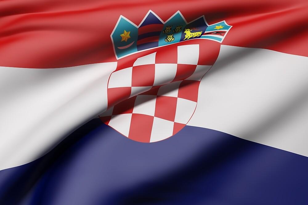 Croatia flag by erllre74