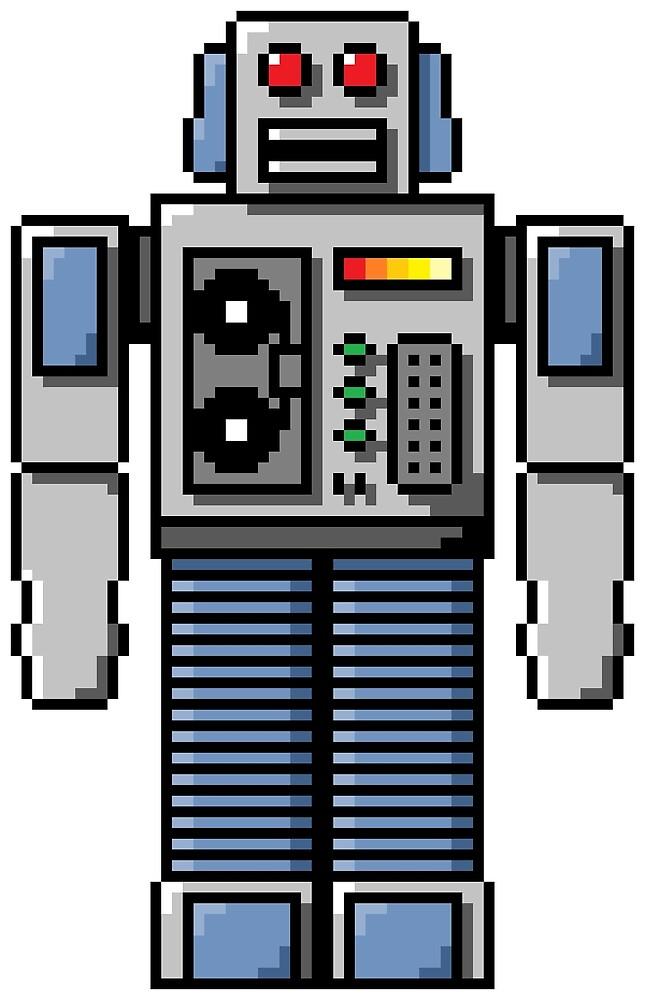 Pixel Robot 045 by Vampireslug