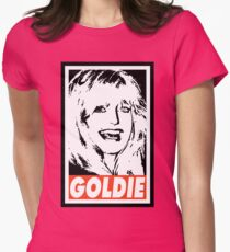 Obey The Golden Girl Womens Fitted T-Shirt