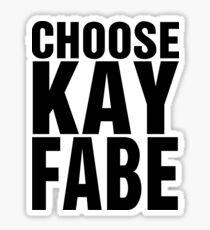 Choose Kayfabe Sticker