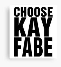 Choose Kayfabe Canvas Print
