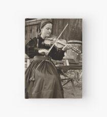 Hardanger fiddle player Hardcover Journal