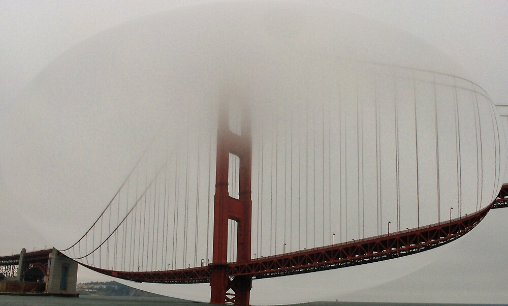 """The Golden Gate in a Bubble"" by lharker"