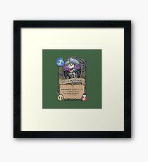 Dr. Boomberman Framed Print