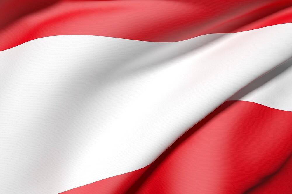 Austria flag by erllre74