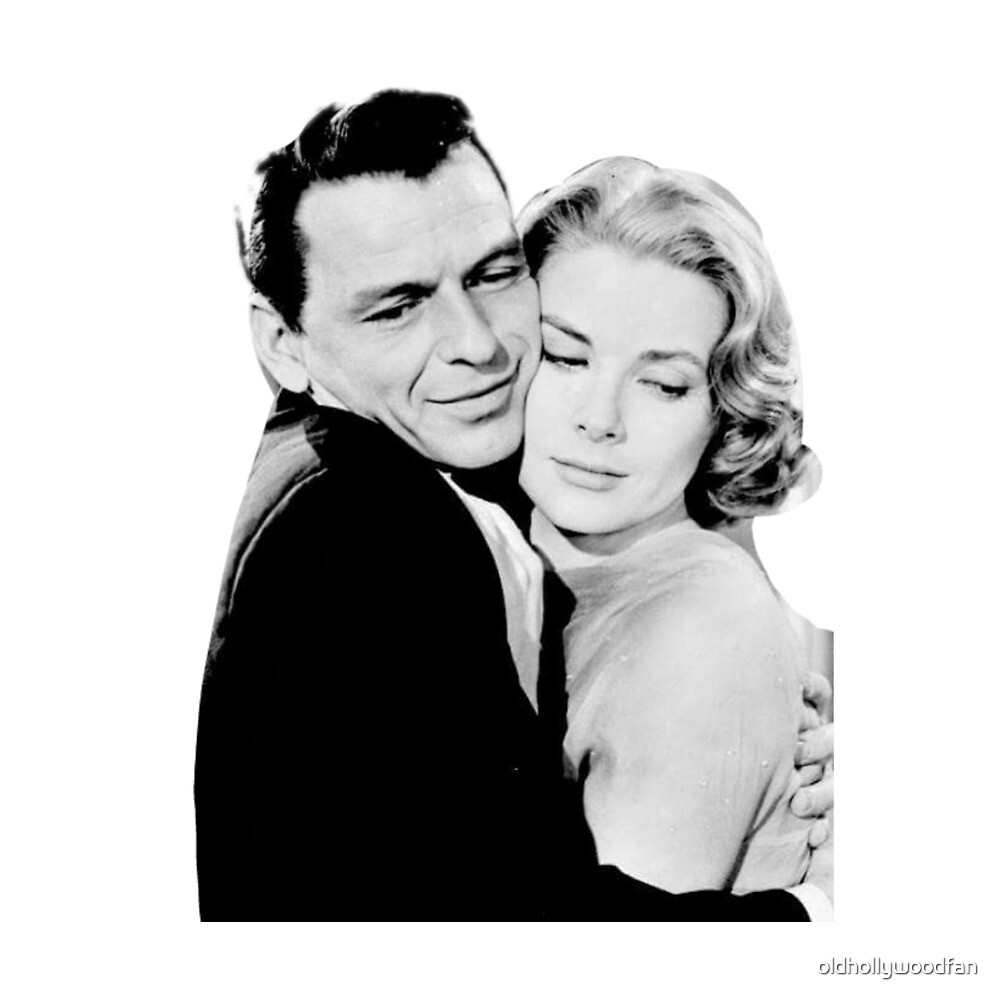 Grace kelly with Frank Sinatra by oldhollywoodfan