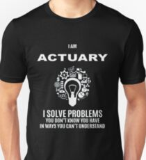 ACTUARY DEFINITION Unisex T-Shirt