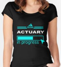 ACTUARY TRUST ME Women's Fitted Scoop T-Shirt