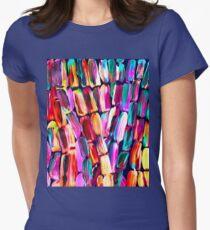 Neon Sugarcane Dark Womens Fitted T-Shirt