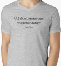 Cesare Pavese Quote Men's V-Neck T-Shirt