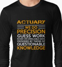 ACTUARY MIRACLE JOB Long Sleeve T-Shirt