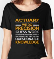 ACTUARY MIRACLE JOB Women's Relaxed Fit T-Shirt