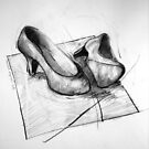 Shoe portrait 02 by Ronald Wigman