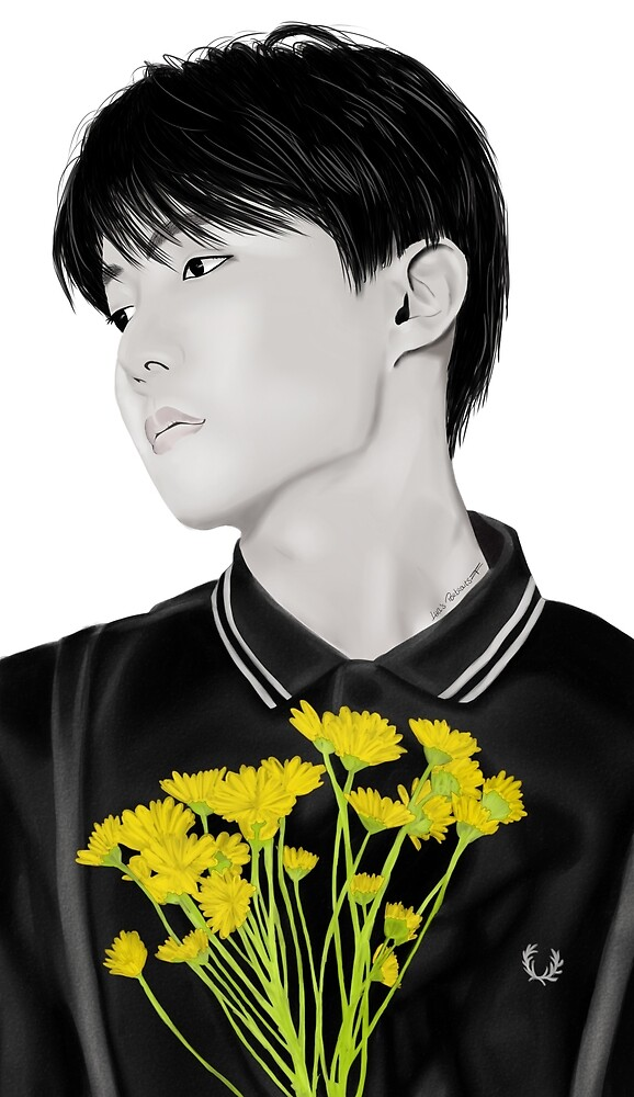 I Need U - J-Hope by LuasPortraits