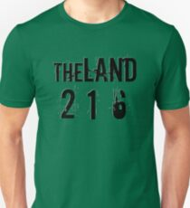 The Land 216 shirt and accessories Unisex T-Shirt