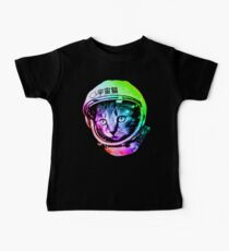 Space Cat in Astronaut Helmet (Uchū Neko) Kids Clothes