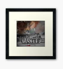 What would you do if the love of your life vanished into thin air? #Castle Framed Print
