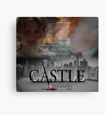 What would you do if the love of your life vanished into thin air? #Castle Canvas Print