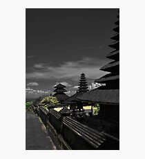 The Sacred Temple Photographic Print