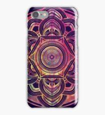 Mandala Dark Blue iPhone Case/Skin