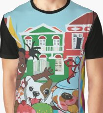 Caribbean Island candy store Graphic T-Shirt