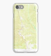USGS TOPO Map Georgia GA Brooklyn 245122 1973 24000 iPhone Case/Skin