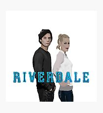 Betty and Jughead Photographic Print