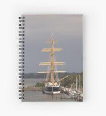 Tall Ship Passat Spiral Notebook