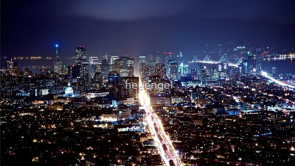 San Francisco After Dark by heyengel