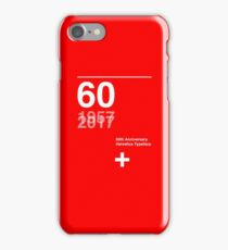 60th Anniversary  Helvetica Typeface iPhone Case/Skin