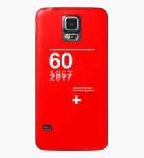 60th Anniversary  Helvetica Typeface Case/Skin for Samsung Galaxy