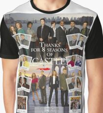 Thanks Castle Graphic T-Shirt