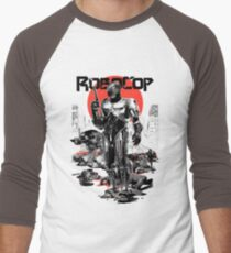 RoboCop - Graphic Novee Style Men's Baseball ¾ T-Shirt