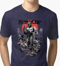 RoboCop - Graphic Novee Style Tri-blend T-Shirt