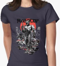 RoboCop - Graphic Novee Style Women's Fitted T-Shirt