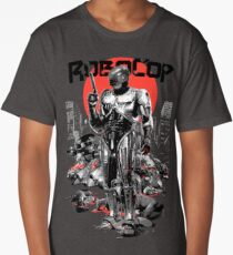 RoboCop - Graphic Novee Style Long T-Shirt