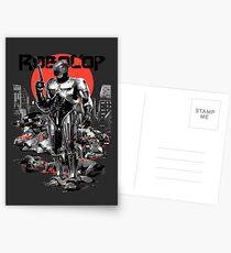 RoboCop - Graphic Novee Style Postcards