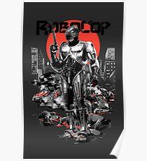 RoboCop - Graphic Novee Style Poster