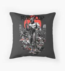RoboCop - Graphic Novee Style Throw Pillow