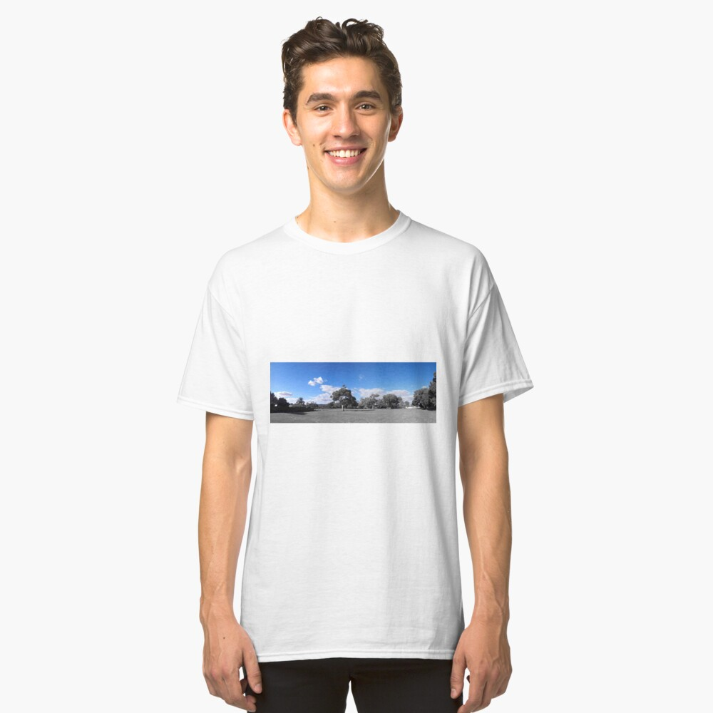 blue sky pan Classic T-Shirt Front