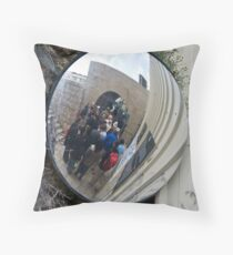 Getting to the Kotel Throw Pillow