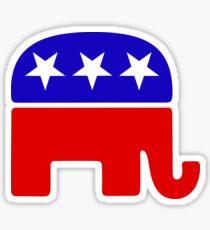 Logotipo republicano Pegatina