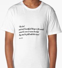 Helen Keller Quote Long T-Shirt