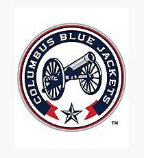 Columbus Blue Jackets Photographic Print