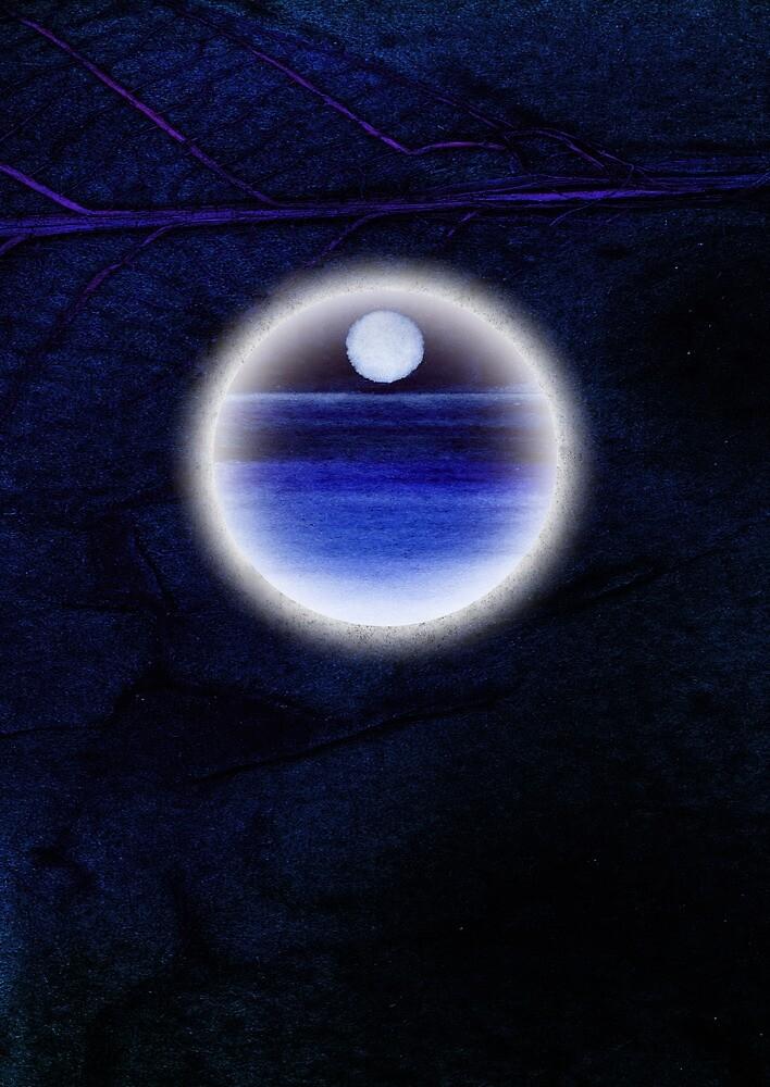 moon 1 leaf journal by tamlit