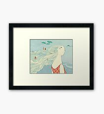 Ophelia - Woman of the Water Framed Print