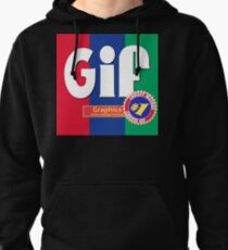 Choosy Muthas Choose GIF Pullover Hoodie