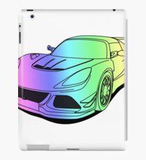 Cool car colourful iPad Case/Skin