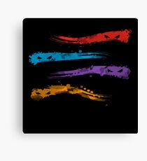 Inked Turtles Canvas Print