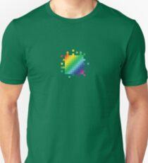 Bitmap Rainbow Unisex T-Shirt